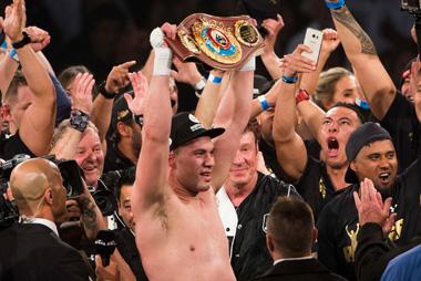 New Zealand heavyweight boxer Joseph Parker v Andy Ruiz Jr. Photosport