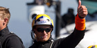 Oracle Team USA skipper Jimmy Spithill said returning to the water too soon almost cost him his arm. Photo/Brett Phibbs.