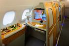 Passengers in Emirates first class can now get self moisturising pyjamas.