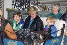 Diana Princess of Wales with Prince William, and Prince Harry in Austria. Photo / Getty Images