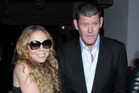 A breakup with Mariah Carey added to James Packer's woes. Photo / Getty Images