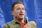 Actor Arnold Schwarzenegger at a charity event earlier this month. Photo/Getty