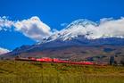 Tren Cucero train in Ecuador. Photo / David Grijalva Rodas