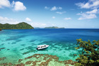 Laucala Island offers dramatic extremes in landscape.