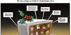View: Cartoon: The Bill English Christmas Cake