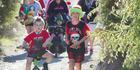 Photos: Puarenga Park run 5km Santa Dash