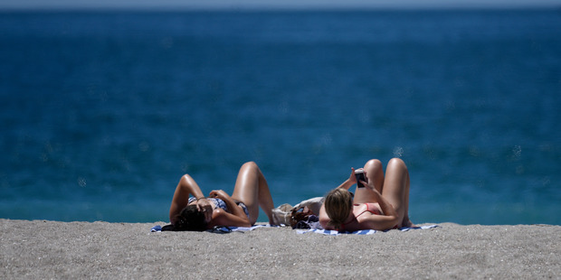 """It's not unreasonable to think that there may be an opportunity for more """"beach weather"""" days this summer, with temperatures more likely to be average or above average. Photo / File"""