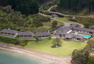 Helena Bay in Northland has just been named the world's best new luxury hotel. Photo/Greg Bowker