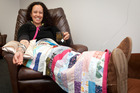 Sonia Howes during one of her Vitamin C infusions. Photo/File