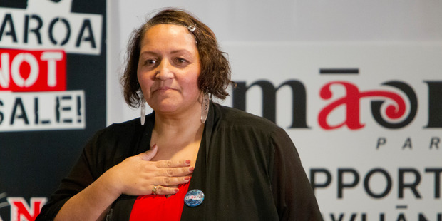 Seeking clarification: Marama Fox co-leader of the Maori Party disputes claims that the party has bowed to public pressure and withdrawn its support of the Resource Legislation Amendment Bill.