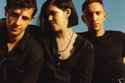 Jamie, Romy and Oliver from The xx, who release their third album this week.