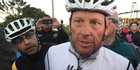 Watch: Watch: Cyclists gather to ride with Lance Armstrong