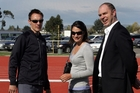 Nick and Sierra Willis have created a mile training programme. Photo / NZME