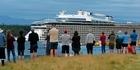 Watch: Megaship arrives to Tauranga