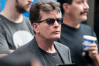 Charlie Sheen implied in a tweet that Donald Trump should be the next one to pass away. Photo / Getty Images