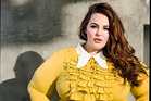 Tess Holliday's social media following helped get her signed as a poster girl for plus-size models. Photo / Supplied