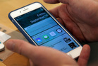 From the outside it looks like a normal iPhone, but this device is very different. Photo / AP