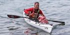 Lynn Paterson didn't let sharks deter her from her dream to circumnavigate New Zealand in her kayak. Photo / Chris Loufte