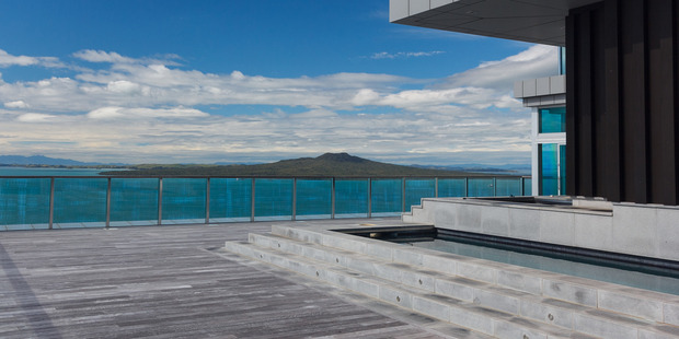 Penthouse apartment at The Sentinel in Takapuna. Photo/Supplied