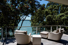The view from the most expensive street in New Zealand, 20 Cremorne St in Herne Bay.