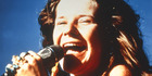 Rock goddess Janis Joplin in the ' rockumentary ' JANIS. Barry Rosenberg has recounted the time she got him naked. Photo / Supplied