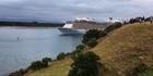 Watch: Watch: Ovation of the Seas sails into Tauranga