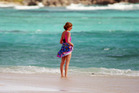 Princess Diana on holiday in 1990 in the Caribbean. Photo / Getty Images
