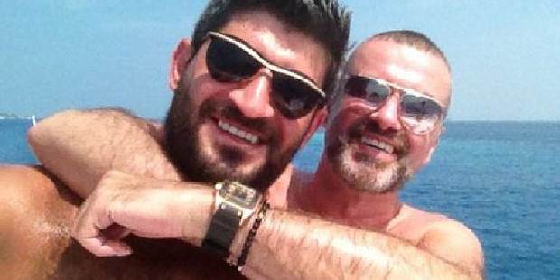 Loading Fadi Fawaz and George Michael were to have spent Christmas together. Photo / Twitter