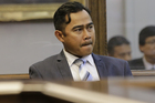 Muhammad Rizalman said he'd find it impossible to get a fair trial, it can now be revealed. Photo / Monique Ford