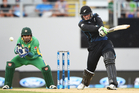 Martin Guptill played an important knock for the Black Caps. Photo / Photosport