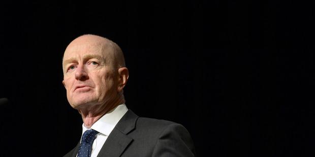 Glenn Stevens, governor of the Reserve Bank of Australia. Photo / Bloomberg