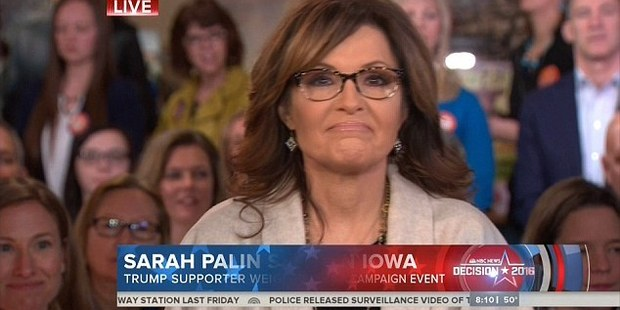 Palin didn't have the best morning on the Today show. Image / NBC