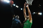 Breakers star Cedric Jackson isn't thinking about winning margins just yet. Photo / Getty Images