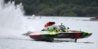 UP TO PACE: Jack Lupton has found the speed he needs for his GP57 hydroplane ahead of the Masport Cup this weekend.PHOTOS/JEREMY WARD, WWW.SHOT360.CO.NZ
