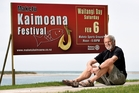 Rotary Club of Maketu president David Campbell is looking forward to this weekend's Kaimoana Seafood Festival. Photo / George Novak