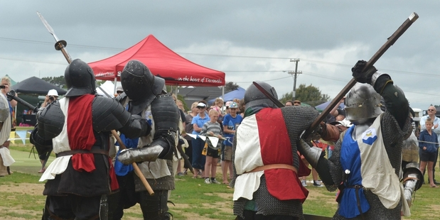 Some of the action from a previous Baldrick's Big Day Out.