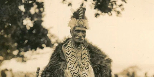 GIFTED: Te Arawa leader Mita Taupopoki led a delegation from the iwi to Waitangi on February 6, 1934, when then Governor General Lord Bledisloe gifted the Waitangi Treaty Grounds to the nation.