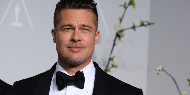 Brad Pitt wasn't at home at the time of the alleged incident. Photo/AP