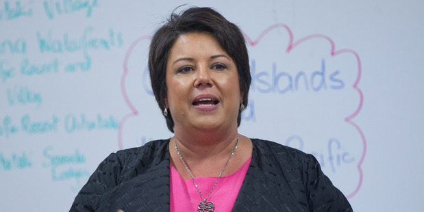 Climate Change Minister Paula Bennett.