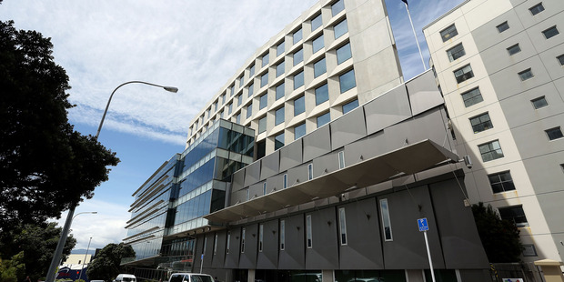 A general view of the GCSB building in Wellington. Photo / Hagen Hopkins