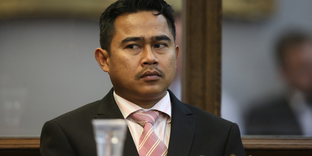Muhammad Rizalman in the dock of the High Court at Wellington in November 2015. Photo / David White