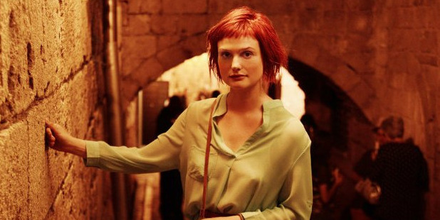 Alison Sudol in a scene from the TV show, Dig.