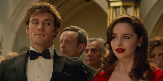 Loading A scene from the upcoming movie, Me Before You.