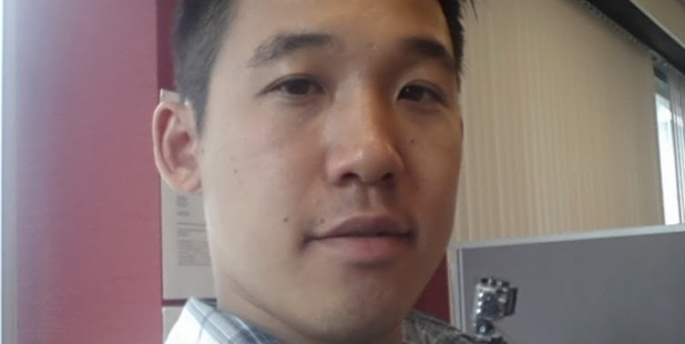 Waikatere student Frankie Tam is trying to track down the motorist who drove into his motorcycle before fleeing the scene. Photo / Supplied