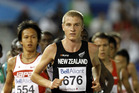 Aaron Pulford of New Zealand runs in the 10,000 Metre Final on day two of the 13th IAAF World Junior Athletics Championships at the Stade Moncton 2010 Stadium.