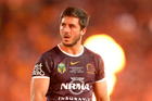 The Broncos' Ben Hunt is one of eight players banned from Origin duty. Photo / Getty