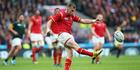 Kiwi-born Gareth Anscombe will start as fullback against Ireland. Photo / Getty