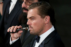 Actor Leonardo DiCaprio was caught vaping at the Screen Actors Guild Awards. Photo / Getty Images