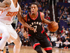 Kyle Lowry #7 of the Toronto Raptors handles the ball against the Phoenix Suns. Photo / Getty Images