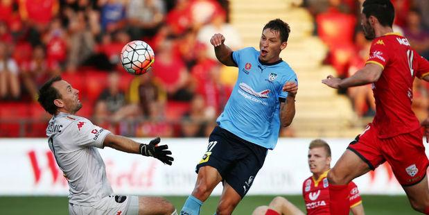 Filip Holosko scores for Sydney. Photo / Getty
